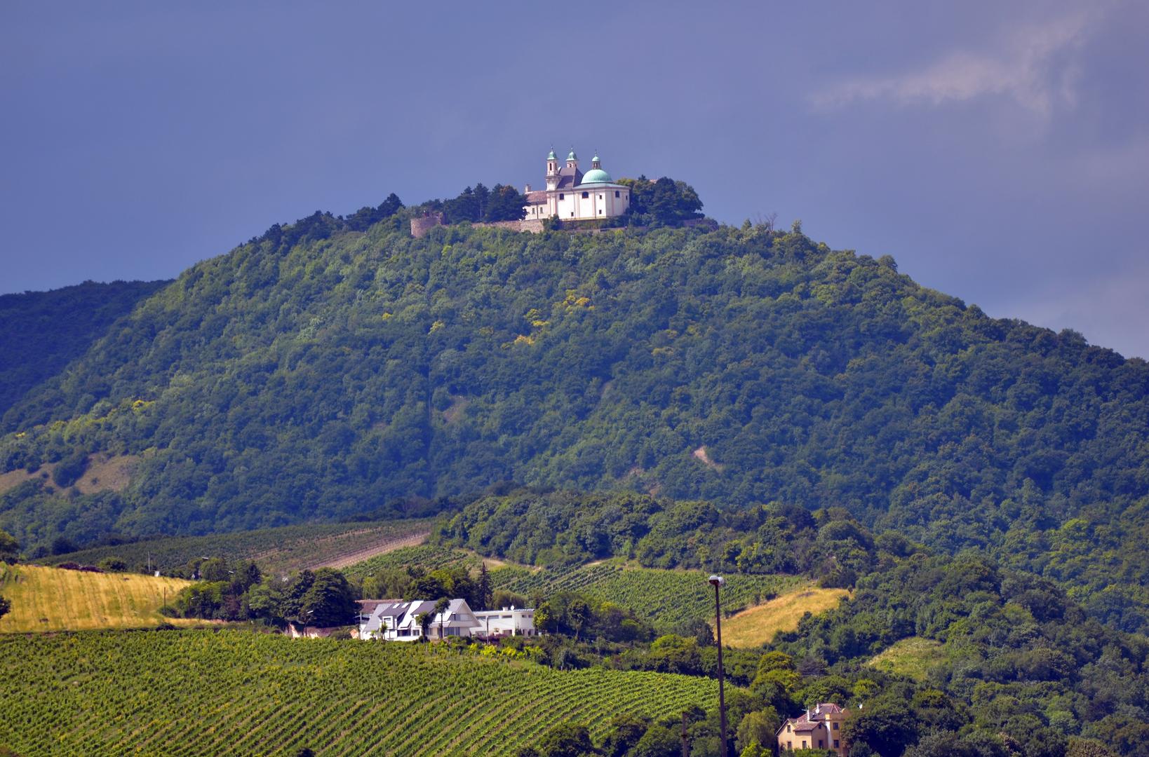 Einer der Top-Aussichtspunkte in Österreich - Der Leopoldsberg in Wien