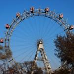 Das Riesenrad - Eines der Wahrzeichen von Wien