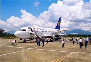 Flugreisen sind weiterhin im Trend